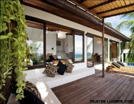 Villas en Tailandia o casas de sol