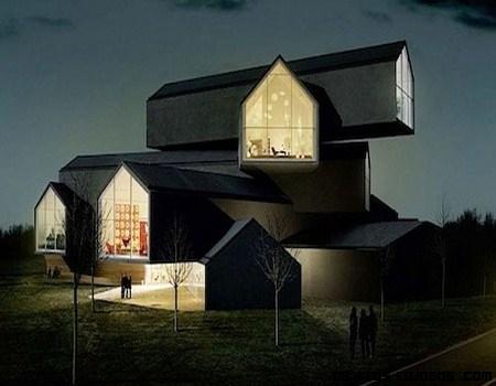 Vitra House, un concepto diferente