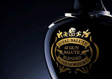 Chivas Royal Salute Whiskey 62 Gun Salute