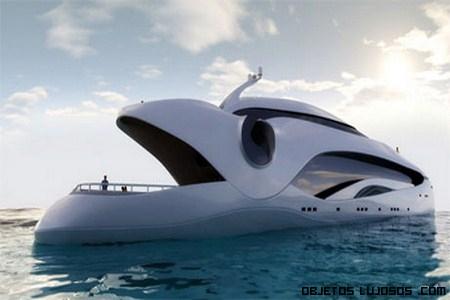 Yate Oculus: un lujo en alta mar