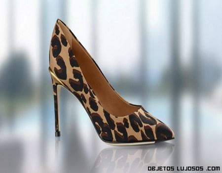 Zapatos estampados leopardo