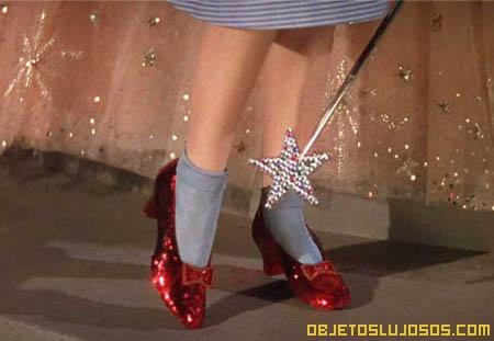 Zapatillas de rubí, las más caras del mundo