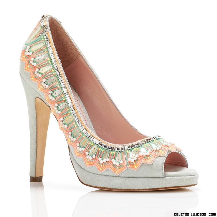 zapatos corte salón en colores