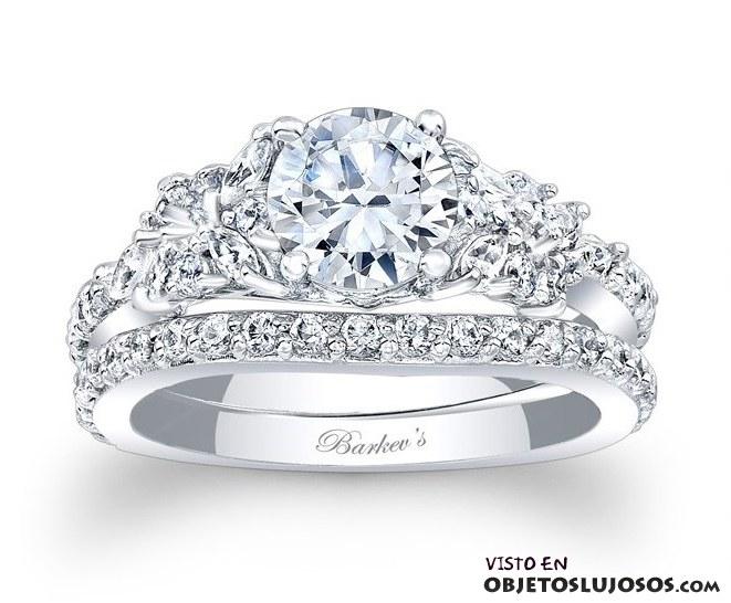 anillo de diamantes Barkev´s