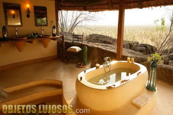 Un resort de lujo en Kenia