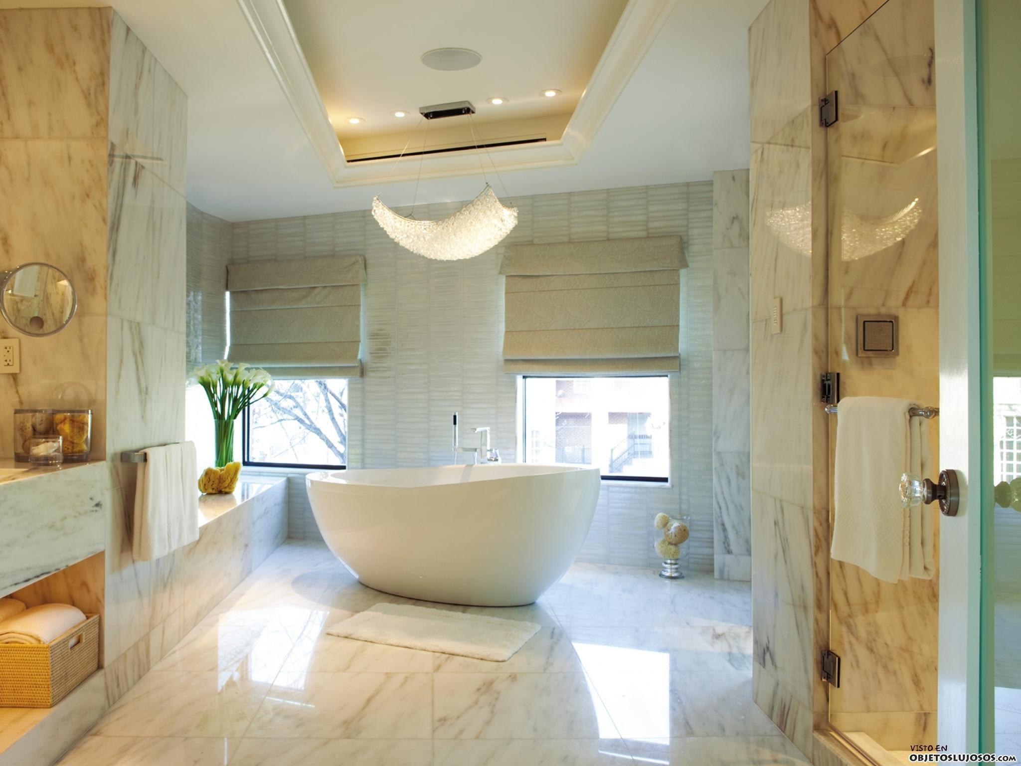 Bathroom Unique Small Bathroom Designs Bathroom Designs: Tres Ejemplos De Baños Lujosos