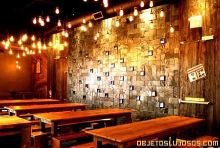 Bar de lujo con estilo japonés