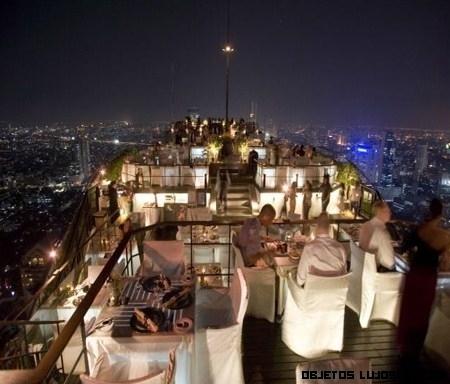Moon-bar: terraza de lujo en Bangkok