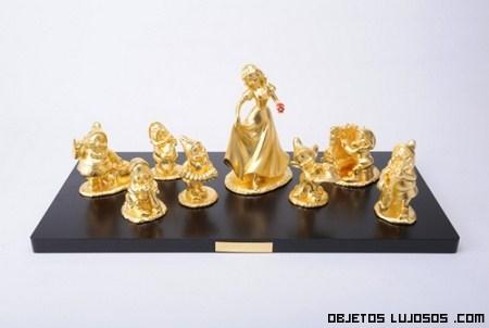 Piezas Disney de oro