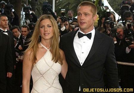 Boda millonaria: Brad Pitt y Jennifer Aniston