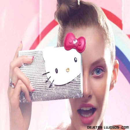 Cristales Swarovsky y Hello Kitty