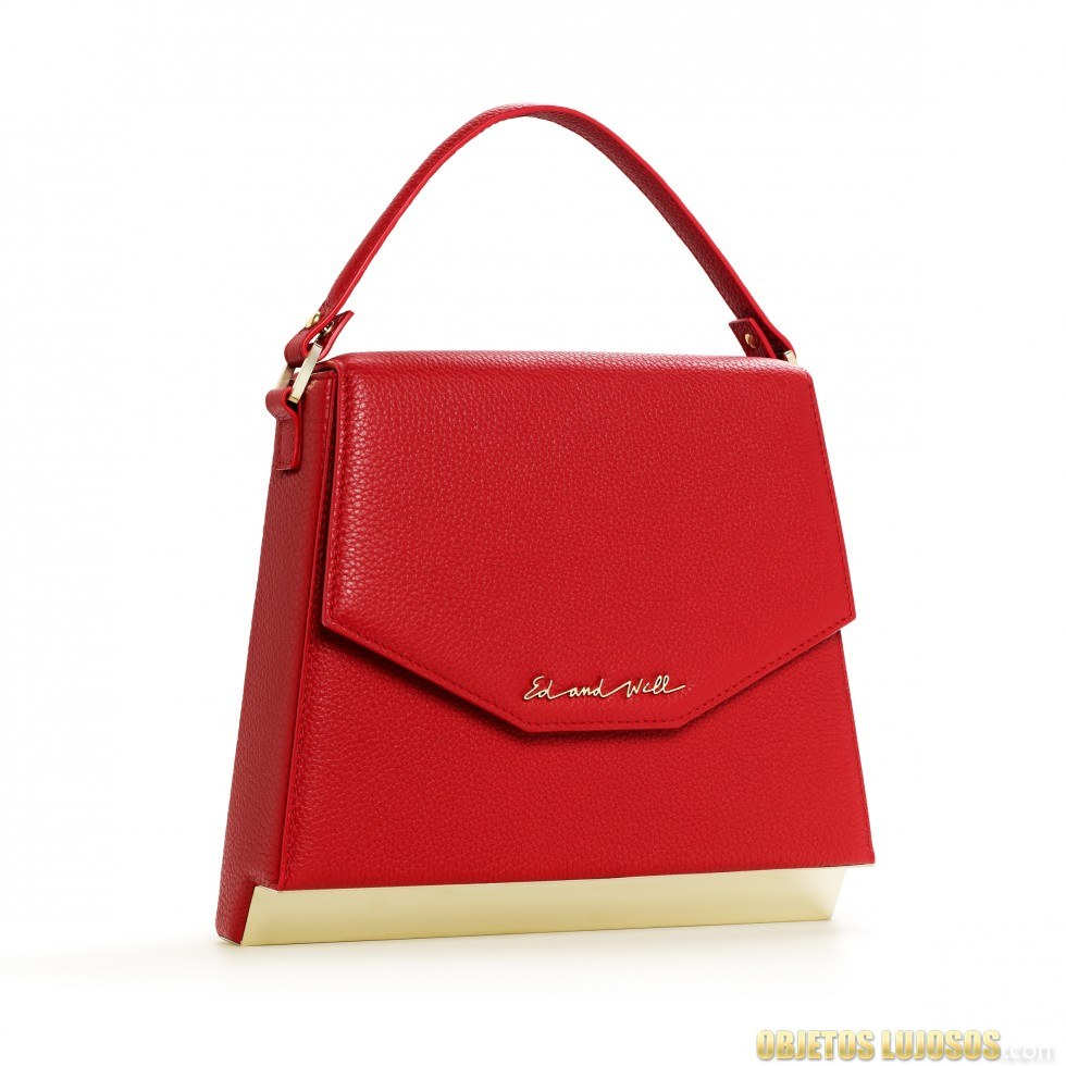 Bolso en rojo de ed and will