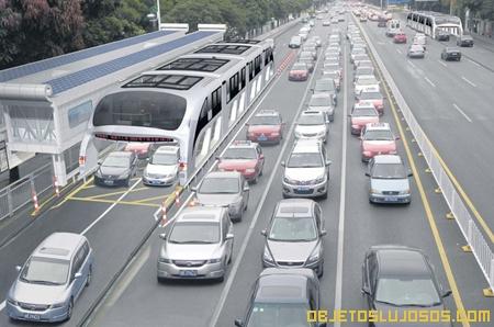 Buses de lujo ecólogicos en China