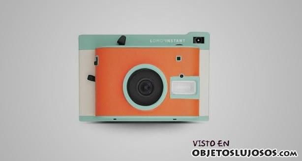 cámara retro de lujo