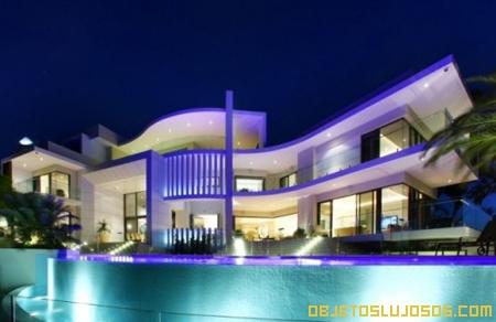 Casa de lujo en la costa de Australia