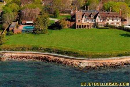 Casa de la clase alta norteamericana - Casas de millonarios ...
