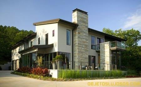 Casa lujosa con detalles sutiles