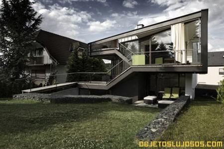 Casa de lujo con diseño moderno