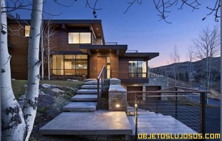 Casa de lujo en la naturaleza