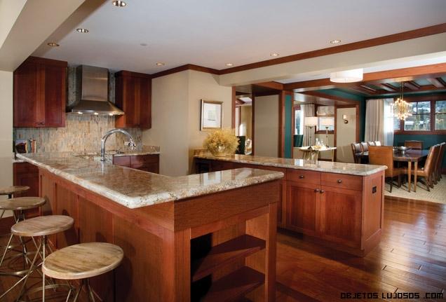 Residencias privadas en san francisco - Marmol de cocina ...
