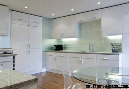 - Cocinas en color blanco ...