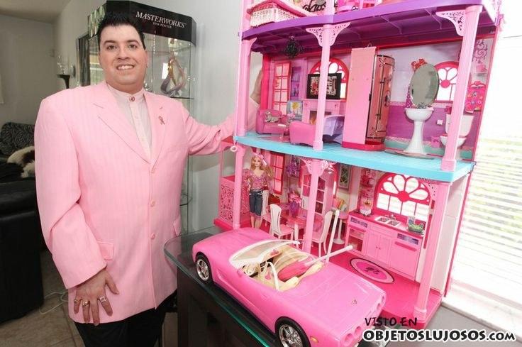 coleccionar casas de Barbie