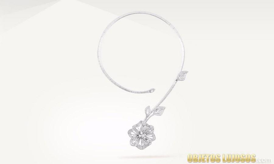 colgante de flor boucheron