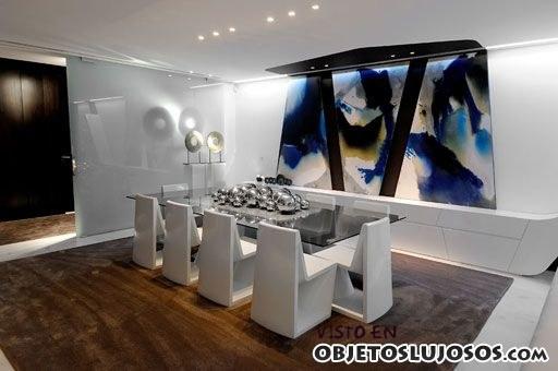 Comedores con mucho estilo for Decoracion de casas minimalistas fotos