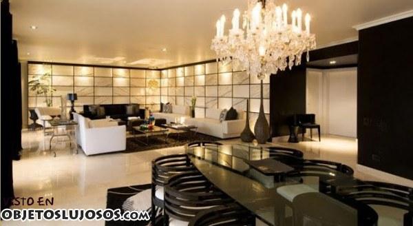 Decoración lujosa en casas exclusivas
