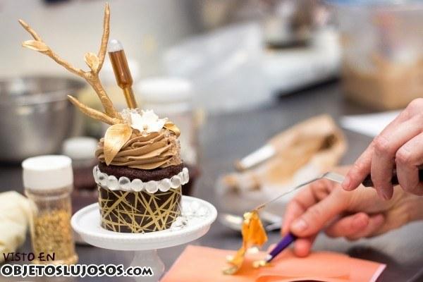 Un cupcake muy especial y caro