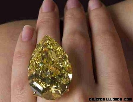 Diamante amarillo,Gota de Sol