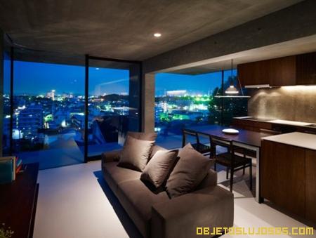 Casa de lujo en jap n for Interiores de casas de lujo