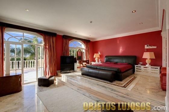 dormitorio casa prince marbella