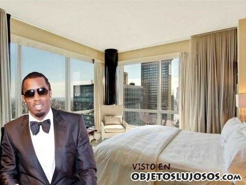dormitorio de puff daddy