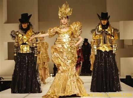 Vestido de oro