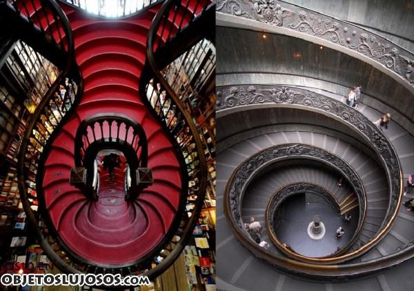 Escaleras muy originales for Clases de escaleras
