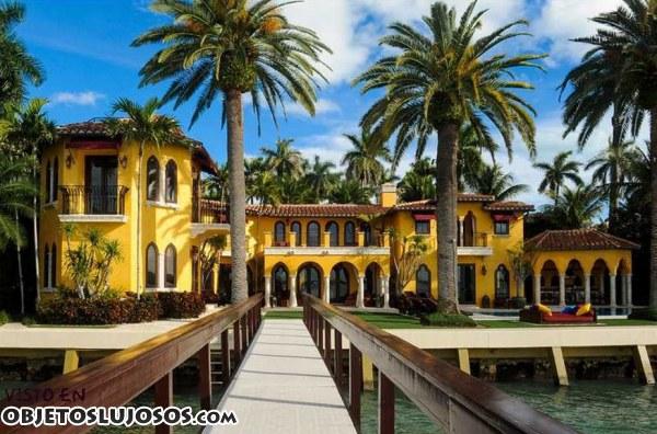 Una villa impresionante en Miami