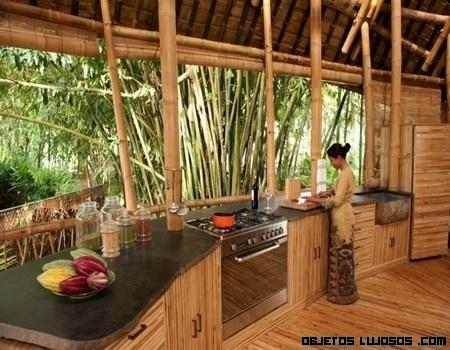 Un concepto diferente de arquitectura en Bali