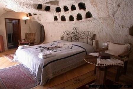 Hotel cueva en Capadocia