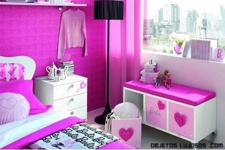 Habitaciones de hotel Barbie