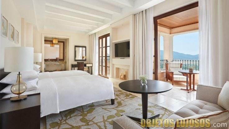 habitación del resort park hyatt mallorca