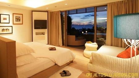 Hotel de lujo en tailandia rest detail for Ver habitaciones de hoteles
