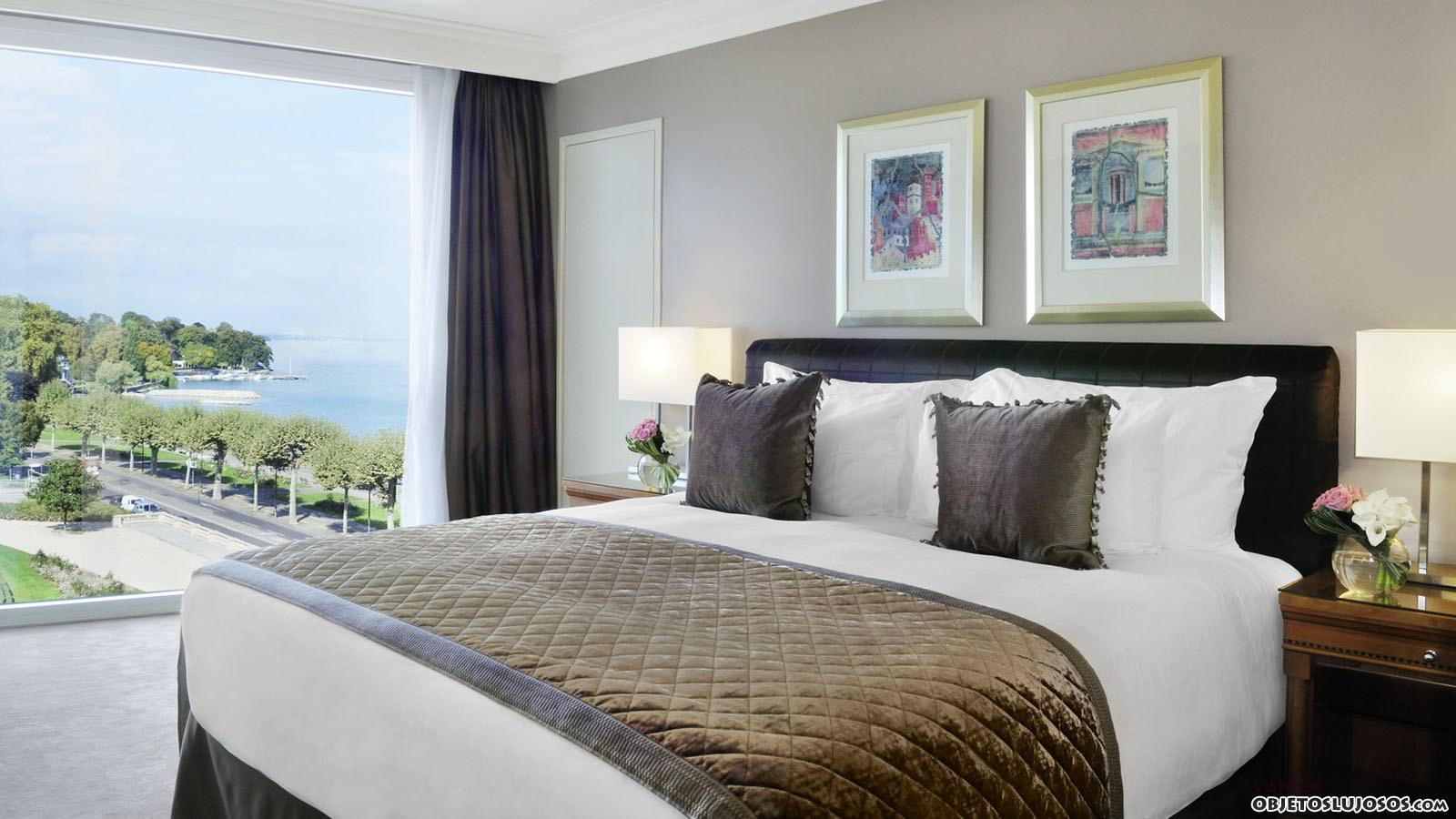 Hotel wilson en ginebra - Decoracion habitacion hotel ...
