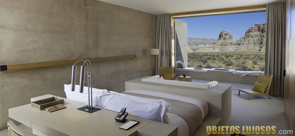 habitacion resort amangiri