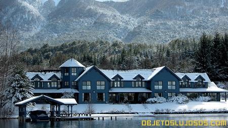 Hoteles de lujo en la Patagonia LAS BALSAS