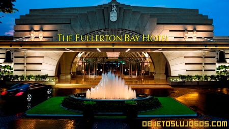 Hoteles de lujo fullerton bay hotel for Imagenes de habitaciones de hoteles de lujo