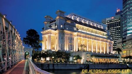 Hotel lujoso en Singapur