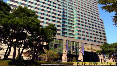 Hotel de lujo en Corea del Sur