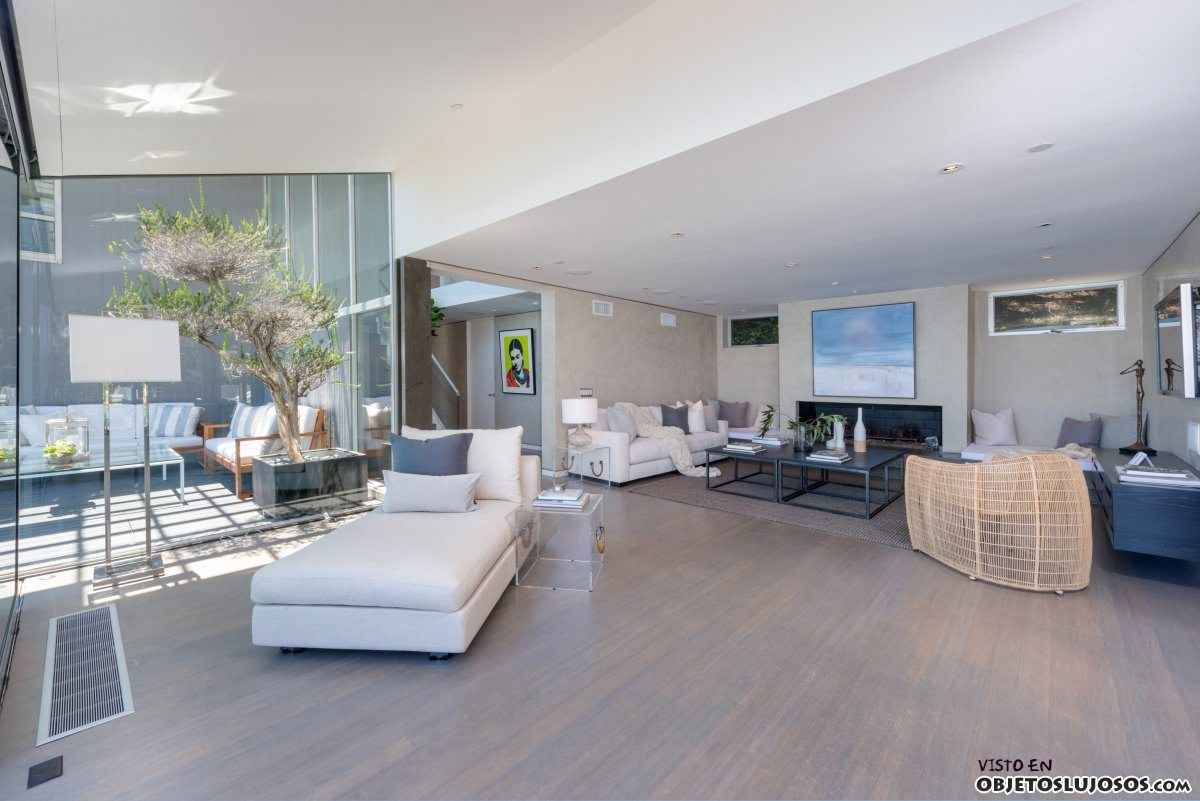 interior casa mathew perry