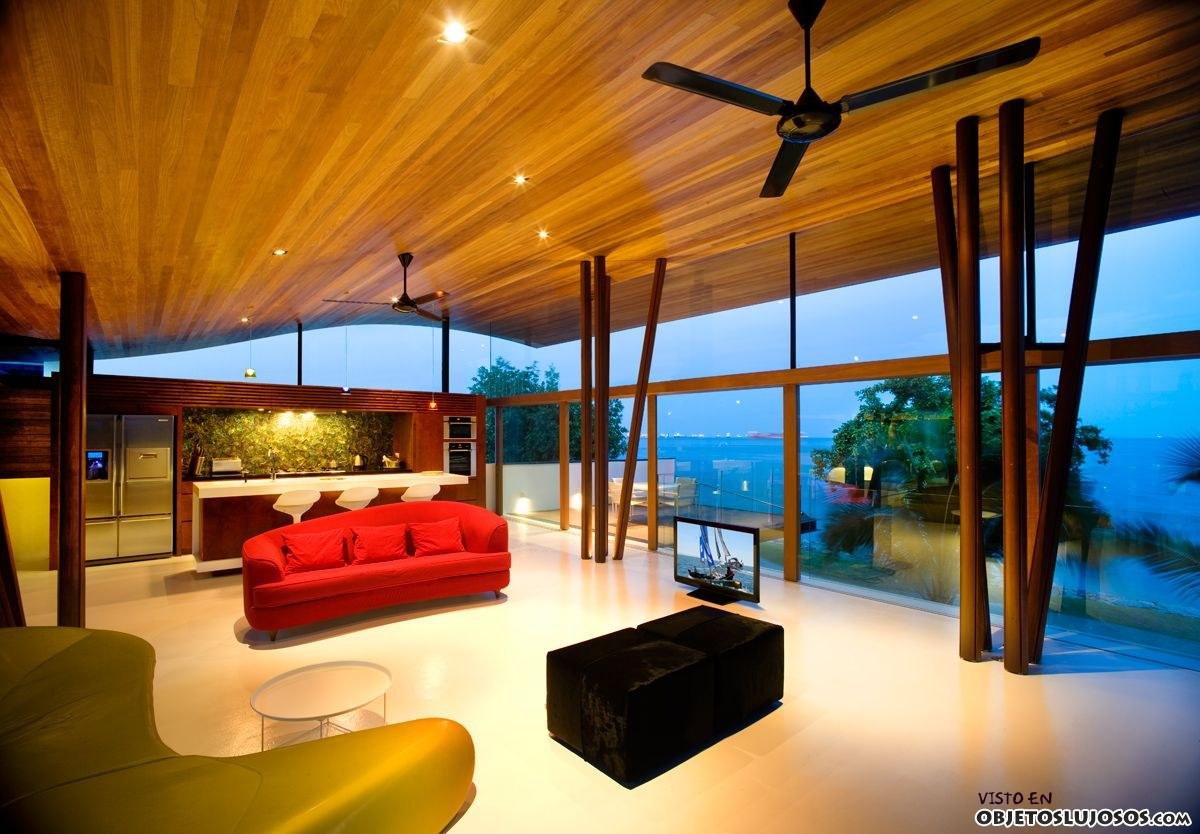 interior de casa en Singapur